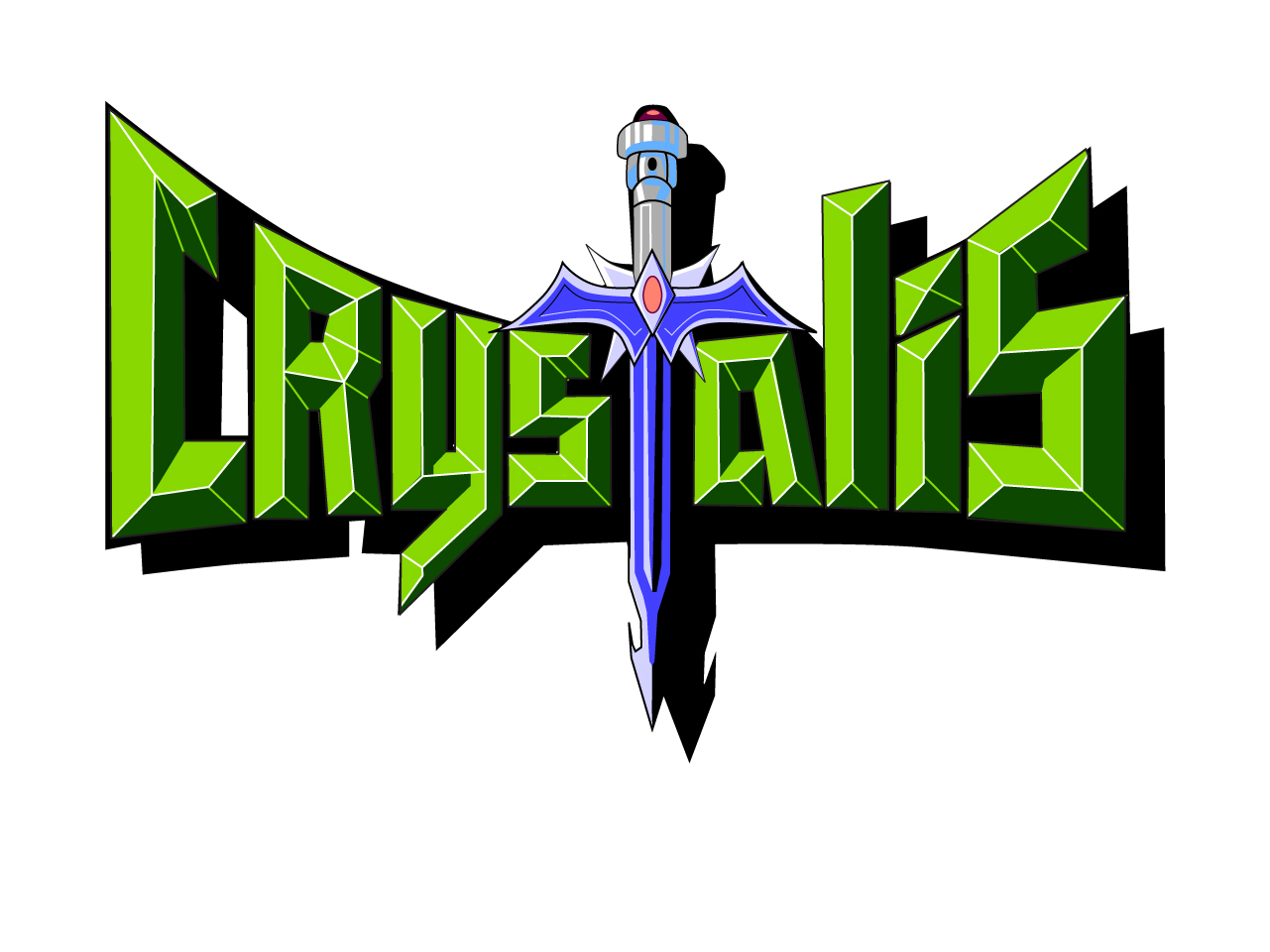 Crystalis Title Screen